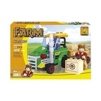 """Конструктор """"Ферма: Трактор"""" (103 детали) 28401"""