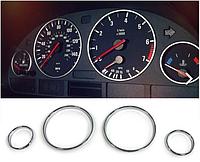 КОЛЬЦА В ЩИТОК ПРИБОРОВ BMW E39 / E38 / X5 E53 (ПЛАСТИК)5