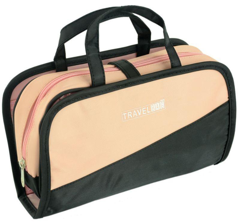 Косметичка женская Traum 7014-79, розово-черный