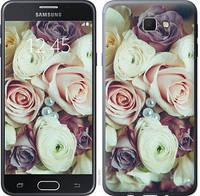 """Чехол на Samsung Galaxy J5 Prime Букет роз """"2692u-465-15158"""""""