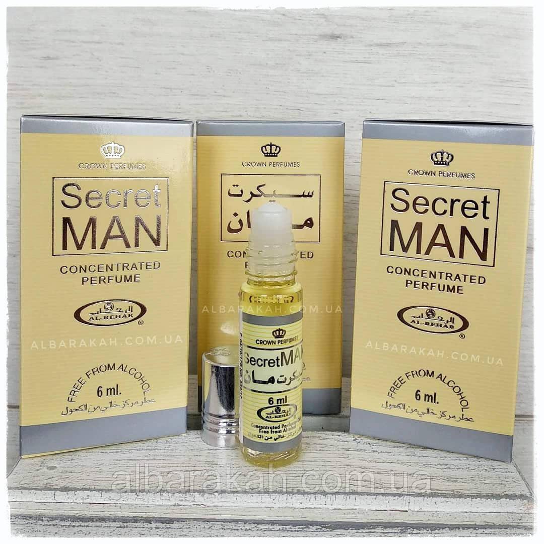 Арабські масляні духи Secret Man Al Rehab (Аль Рехаб) 6 мл