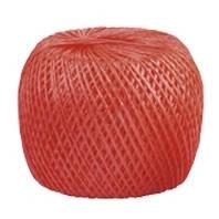 Шпагат полипропиленовый красный 60м 1200 текс Сибртех