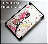 Красивый чехол книжка Фея (Fairy) для Xiaomi Mi pad 4, Mipad 4, кожа PU, модель Slim Smart TF Case цветной, фото 5