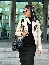 Стеганная куртка-косуха