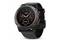 Умные часы Smart Watch Garmin Fenix 5X Slate Gray Metal band (010-01733-04), фото 2