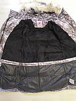 Куртки на меху для девочек оптом, Glo-Story, 110-160 рр., арт.GMA-6456, фото 5