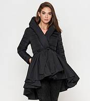 Женская куртка с юбкой черная асимметрия Tiger Force 25755N
