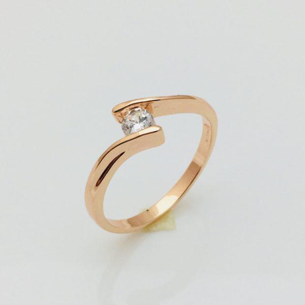 Кольцо колечко, размер  18  ювелирная бижутерия