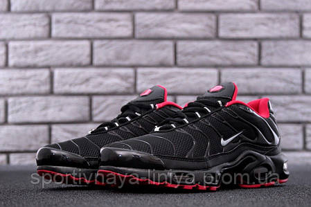 Кроссовки мужские черные Nike Air Max TN+ (реплика), фото 2