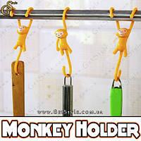 """Забавные обезьянки-держатели - """"Monkey Holder"""" - 3 шт., фото 1"""