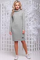 Платье 12-1017- серый: S М L XL XXL, фото 1