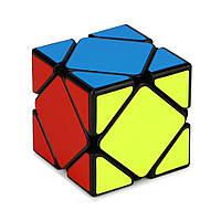Кубик головоломка ск'юб YongJun Guanlong Skewb, Чорний пластик, в коробці