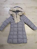 Куртки на меху для девочек оптом, Glo-Story, 110-160 рр., арт. GMA-6501, фото 3