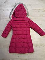 Куртки на меху для девочек оптом, Glo-Story, 110-160 рр., арт. GMA-6501, фото 9
