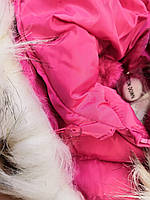 Куртки на меху для девочек оптом, Glo-Story, 110-160 рр., арт. GMA-6501, фото 6