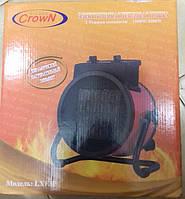 Керамический тепловентилятор Crown 3 кВт