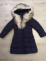 Куртки на меху для девочек оптом, Glo-Story, 110-160 рр., арт. GMA-6501, фото 5