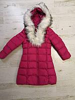 Куртки на меху для девочек оптом, Glo-Story, 110-160 рр., арт. GMA-6501, фото 4
