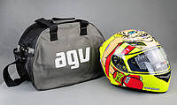 Сумка-чехол для шлема AGV  44 см * 34 см * 22 см повседневная дорожная на ножках