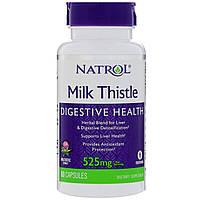 Расторопша, 525 мг, 60 капсул, Milk Thistle, Natrol