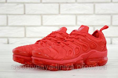 c124aefa Купить Кроссовки мужские красные Nike Air VaporMax Plus (реплика ...