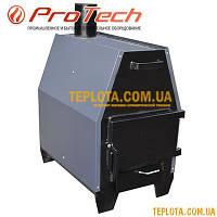 Воздухогрейная печь с варочной поверхностью ProTech ZUBR ПДГ-15 (мощность 15 кВт) - ПОД ЗАКАЗ