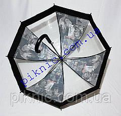 Молодежный зонт трость. Зонтик от дождя! Монро4, фото 3