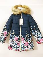 Зимния куртка пальто для девочек F&D Венгрия зима на 4 годика