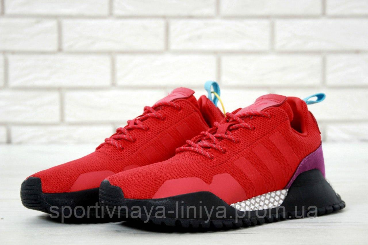 Кроссовки мужские красные  Adidas AF 1.4 Primeknit  (реплика)