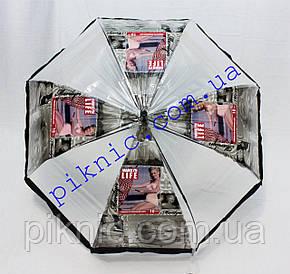Молодежный зонт трость. Зонтик от дождя! Монро4, фото 2
