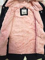 Куртки на меху для девочек оптом, Glo-Story, 110-160 рр., арт.GSX-6781, фото 4