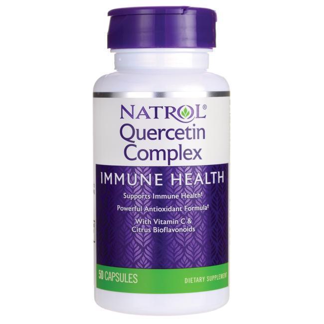 Кверцетин, 250 мг 50 капсул