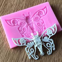 "Молд кондитерский ""Бабочка"" - размер молда 7,8*5см, силикон"