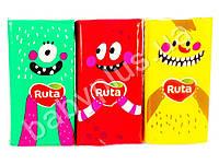 """Платки носовые """"Ruta"""" Monsters ассорти белые трехслойные без аромата 10шт"""