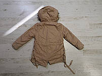 Куртки на меху для девочек оптом, Glo-Story, 110-160 рр., арт. GSX-6784, фото 6