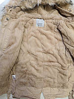 Куртки на меху для девочек оптом, Glo-Story, 110-160 рр., арт. GSX-6784, фото 3