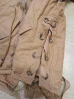 Куртки на меху для девочек оптом, Glo-Story, 110-160 рр., арт. GSX-6784, фото 5