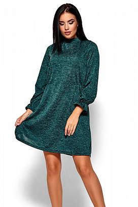(S, M, L) Молодіжне повсякденне темно-зелене плаття Pavlina