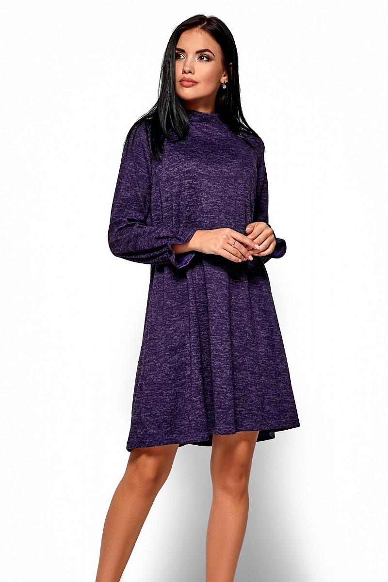 (S / 42-44) Молодіжне повсякденне фіолетове плаття Pavlina