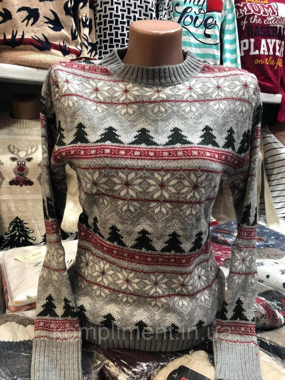 Теплий светр жіночий вовняної без горла. Виробництво Туреччина.