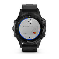 Умные часы Smart Watch Garmin Fenix 5 Plus Black, фото 4