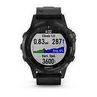 Умные часы Smart Watch Garmin Fenix 5 Plus Black, фото 5