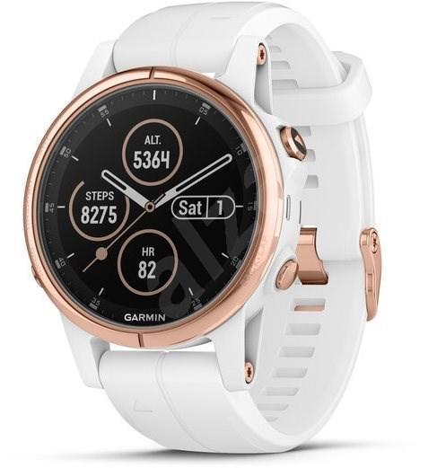 Умные часы Smart Watch Garmin Fenix 5 Plus White