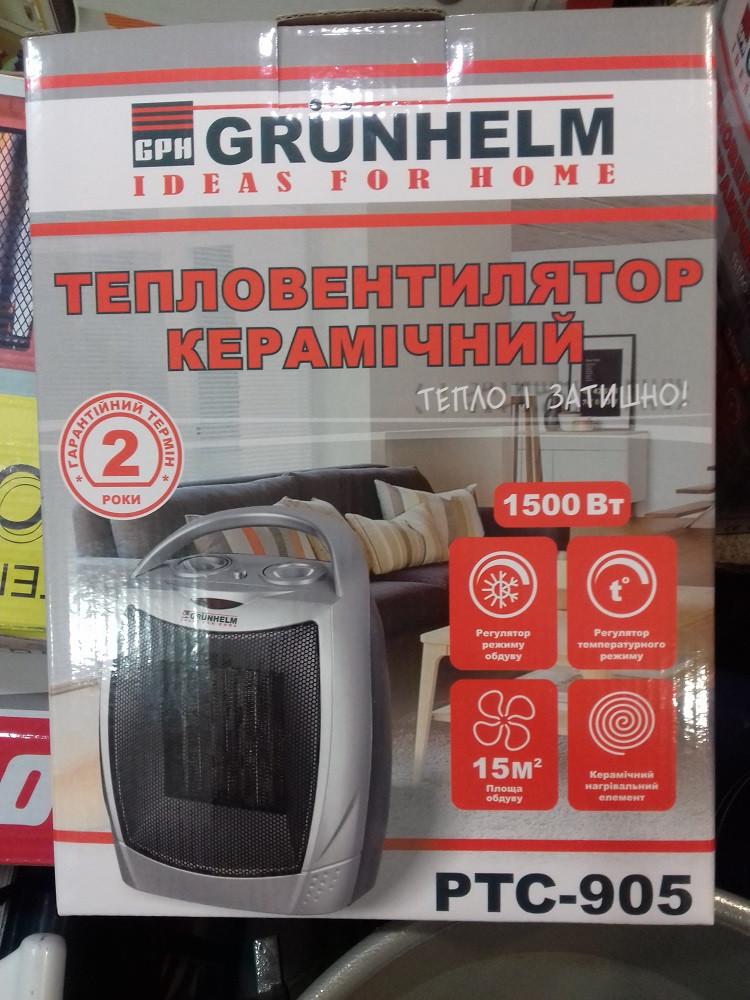 Тепловентилятор керамический Grunhelm PTC-905