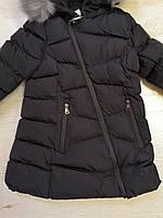 Куртки на меху для девочек оптом, Glo-Story, 110-160 рр., арт.GMA-6451, фото 6