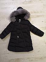 Куртки на меху для девочек оптом, Glo-Story, 110-160 рр., арт.GMA-6451, фото 3