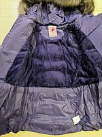 Куртки на меху для девочек оптом, Glo-Story, 110-160 рр., арт.GMA-6451, фото 7