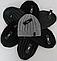 Мужская шапка зимняя, флис м 6129, разные цвета, фото 2