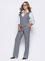 Костюм-3-ка жін.(жилет+штани+блуза) рр.44-48