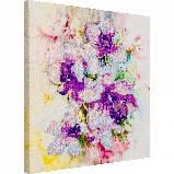 FLF-034 Цветочная акварель. Набор для вышивки бисером на подрамнике, фото 2